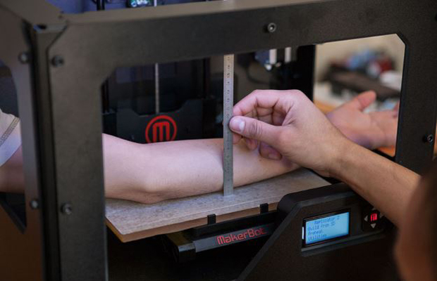 Teste Impressão 3D - Tatuagem - Teste