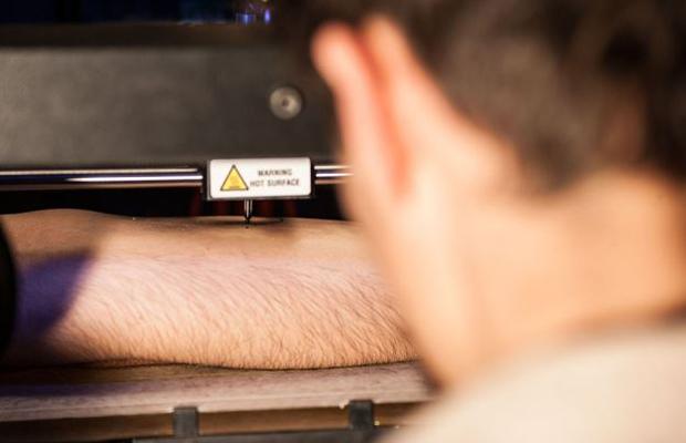 Teste Impressão 3D - Tatuagem - Dispositivo