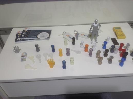 Objetos Expostos Inside 3D Printing