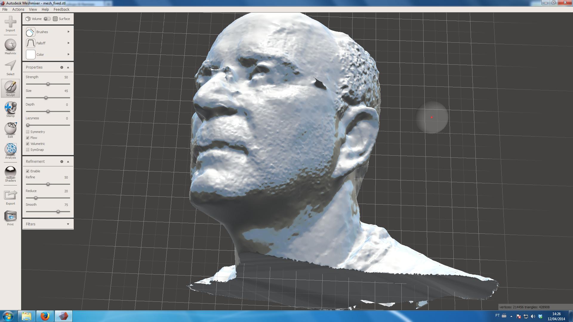 Meshmixer Impressão 3D