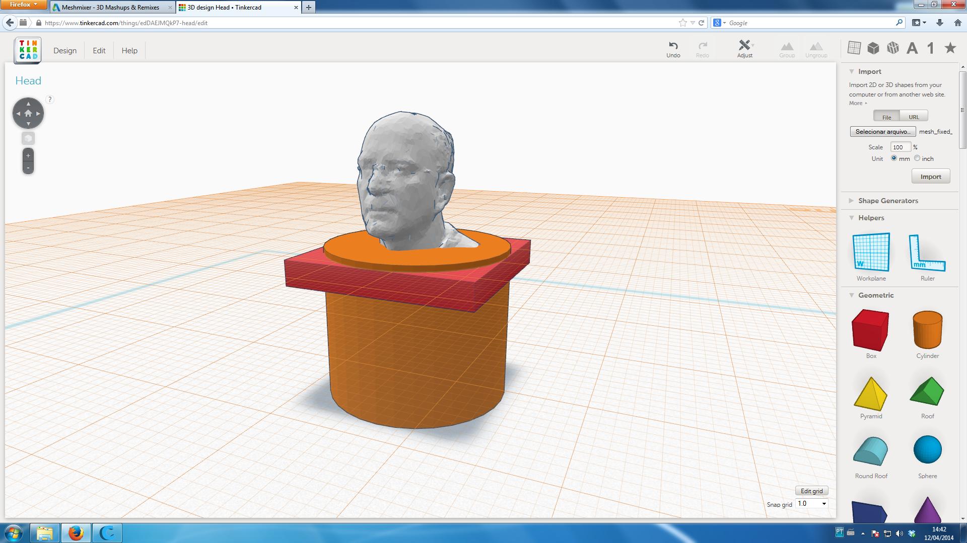 Tinkercad Impressão 3D