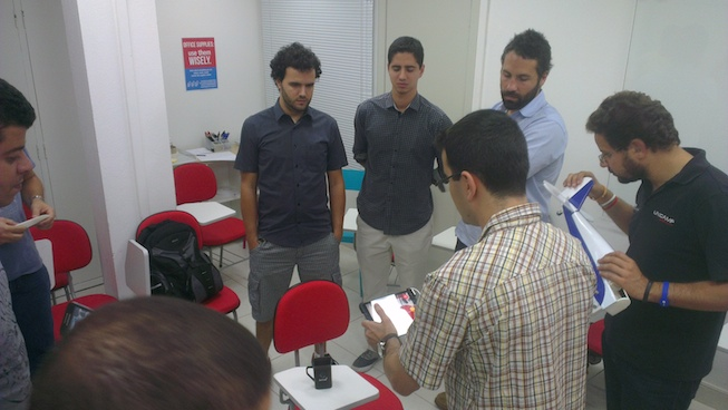 Escaneando 3D Meetup Scanner 3D